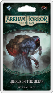 Arkham Horror : The Card Game – Blood on the Altar Mythos Pack